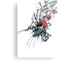 Wolverine - Red Sun Canvas Print