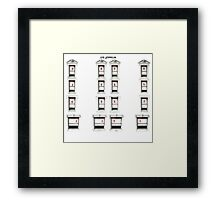 Led Zeppelin Physical Frames Framed Print