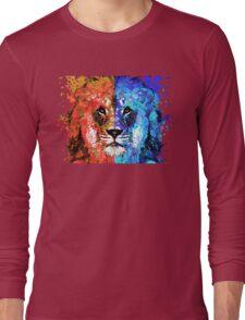 Lion Art - Majesty - Sharon Cummings Long Sleeve T-Shirt