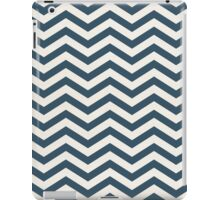 The Midnight & Cream Chevron iPad Case/Skin