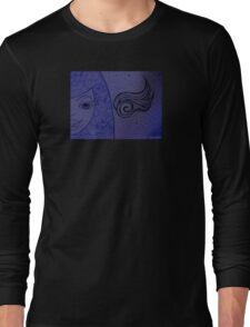 Sassy Pants Fantasy Girl Drawing Long Sleeve T-Shirt