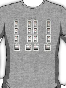 Led Zeppelin Physical Frames T-Shirt