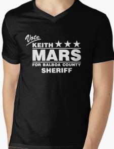 Keith Mars for Sheriff (White) Mens V-Neck T-Shirt