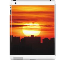 Autumn sunset in New York City  iPad Case/Skin