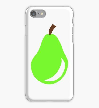 Green pear iPhone Case/Skin