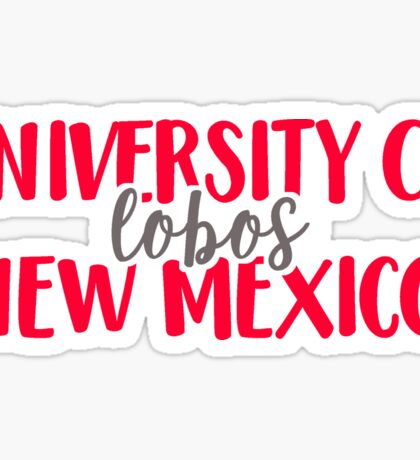 University of New Mexico - Lobos Sticker