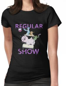 REGULAR SHOW Womens Fitted T-Shirt