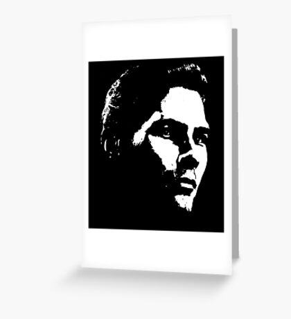 High Contrast Cullen Rutherford Greeting Card