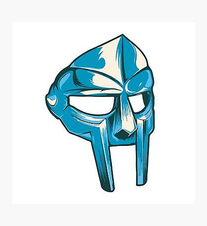 MF Doom — Metal Fingers Mask Photographic Print