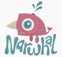 Baby Narwhal by JaredAtkins
