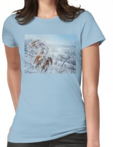 frosted reed Womens Fitted T-Shirt