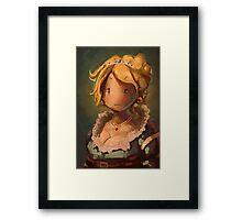 Lady JRPG VI Framed Print