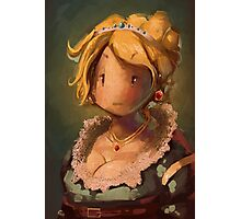 Lady JRPG VI Photographic Print