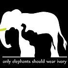 Only Elephants Should Wear Ivory by thekohakudragon