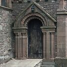 St Thomas Church 1180 Monmouth Wales 198405180046  by Fred Mitchell