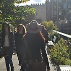 Walking on The High Line by jonwhitehead