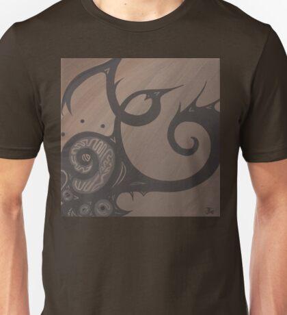 Spot the Spiral Elephant Unisex T-Shirt