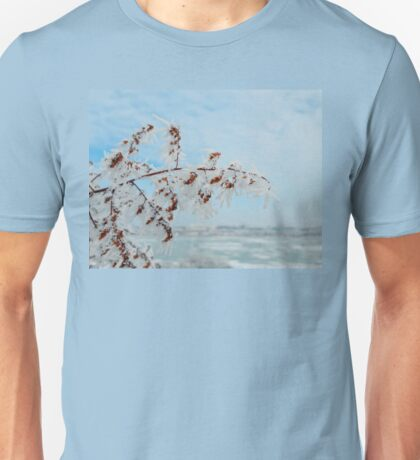 frost crystal Unisex T-Shirt