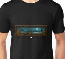 Glitch furniture wall decor shimla mirch landscape painting Unisex T-Shirt