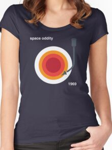A Space Oddity Women's Fitted Scoop T-Shirt