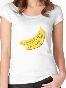 Banana Split Women's Fitted Scoop T-Shirt