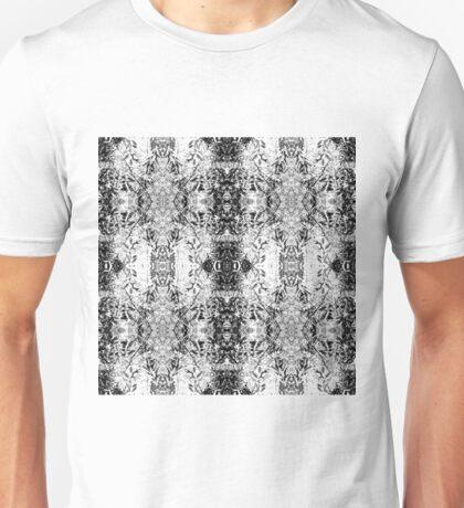 Inky Leaf Sketch Unisex T-Shirt