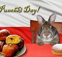 Punchki Day Bunny Rabbit by jkartlife