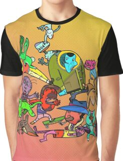 Party Time Graphic T-Shirt