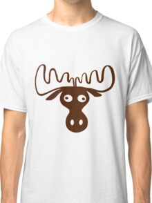 A moose head Funny shirt Classic T-Shirt