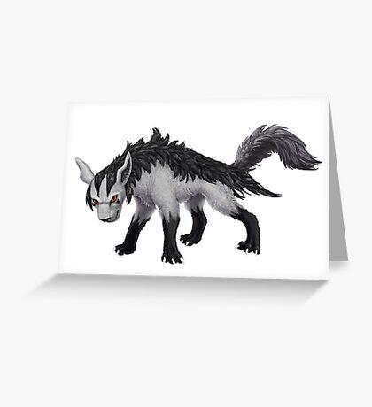 Mightyena  Greeting Card