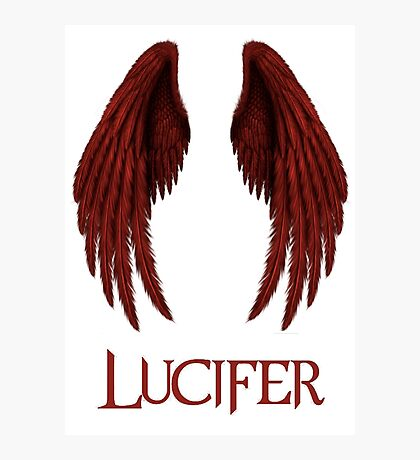 Lucifer red Photographic Print