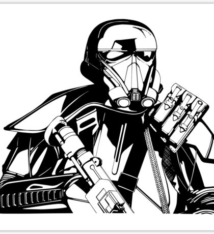 Imperial Death Trooper Sticker
