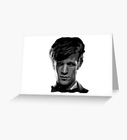 Matt Smith: The 11th Doctor Greeting Card