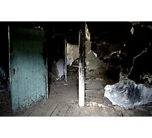 Haunted - The Sitting Room Photographic Print