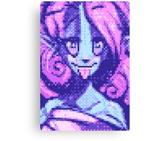 Pixel Alien Canvas Print