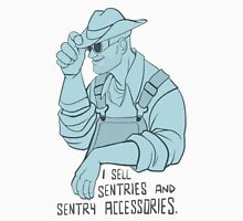 Sentry and Sentry Accessories BLU Unisex T-Shirt