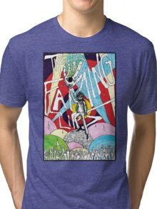 Wayne and the Laser Hand Tri-blend T-Shirt