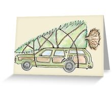 Griswold Family Christmas Tree Greeting Card
