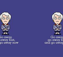 Carolyn from Cabin Pressure (mug) by redscharlach