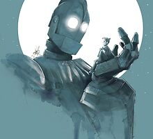The Iron Giant by devlinart