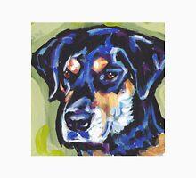 Rottador  Labrador and rottweiler mix Dog Bright colorful pop dog art Unisex T-Shirt