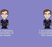 Martin from Cabin Pressure (mug) by redscharlach
