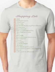 Geek Shopping List T-Shirt