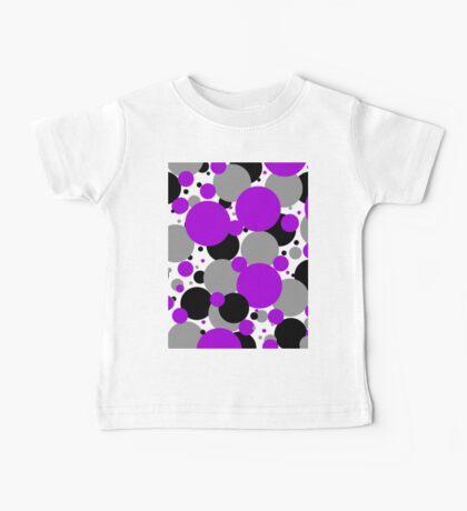 Purple Polka Dots Baby Tee