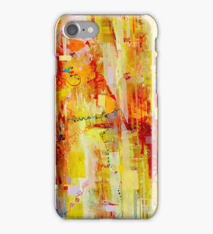 Written in particles and Waves iPhone Case/Skin
