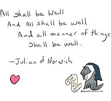 Jack's Julian of Norwich - All Shall Be Well by Beth A.  Richardson