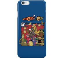 Wacky races - Everyone iPhone Case/Skin