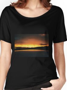 Sky on Fire Women's Relaxed Fit T-Shirt