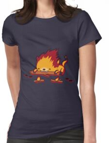 His Burn Is Worse Than His Bite Womens Fitted T-Shirt