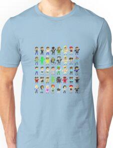 Paddy's Pub Characters Transparent  Unisex T-Shirt